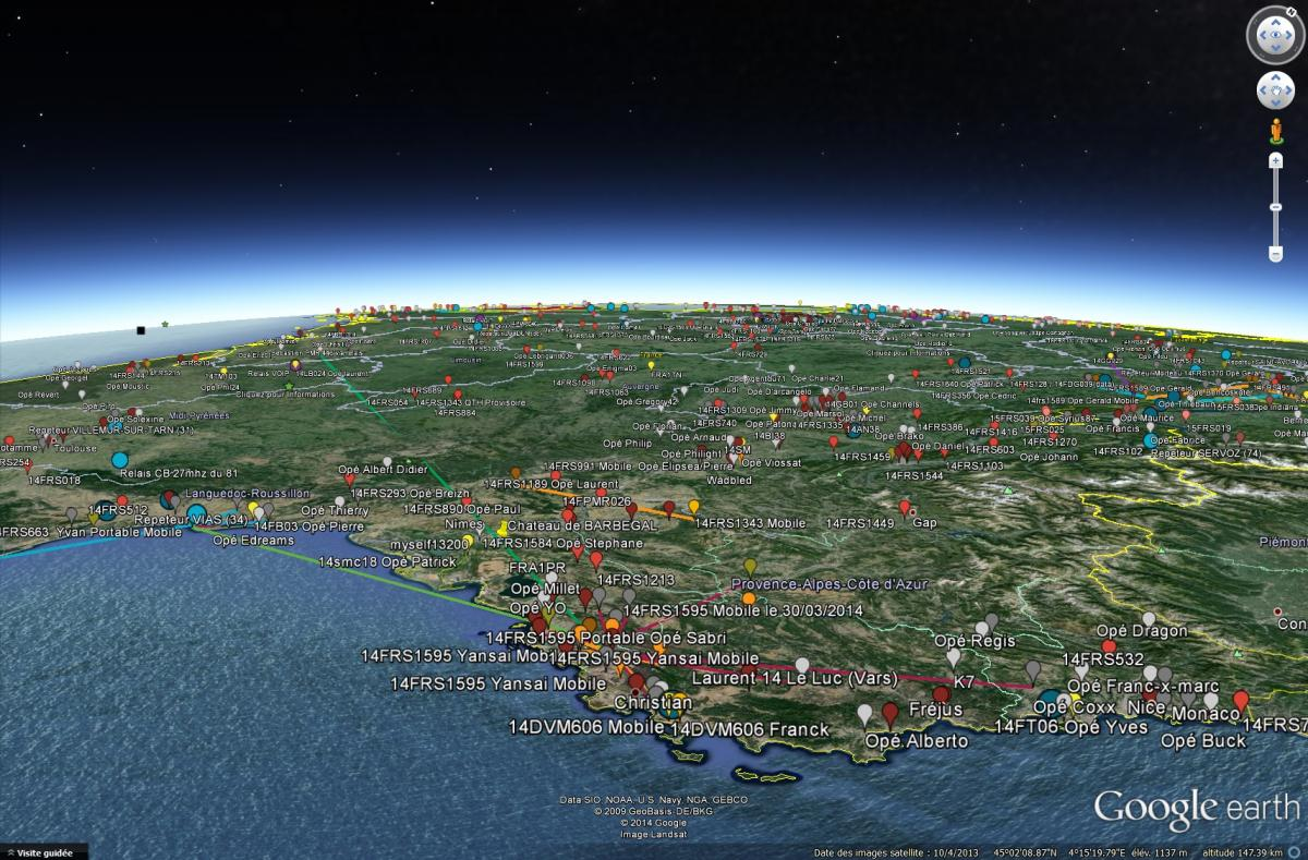 Carte Googl Earth